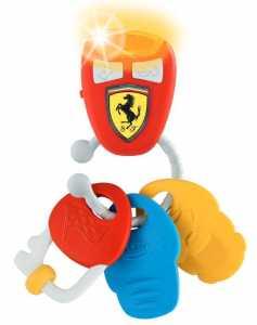 Chicco- Gioco Chiavi Elettroniche Ferrari 461, Multicolore, 8058664095124