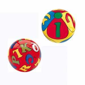 MONDO Pallone D.230 Alfabeto E Numeri (Sogg.Casuale) 06394