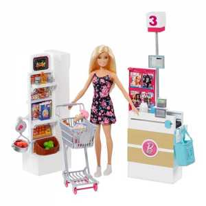 BARBIE E IL SUPERMERCATO DI BARBIE - Mattel (Frp01)