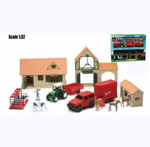 New Ray - Fattoria Country Life Playset - NEW-4045