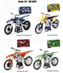 NewRay- Modello Motocross, Colori Assortiti, 57703I, 1 Pezzo