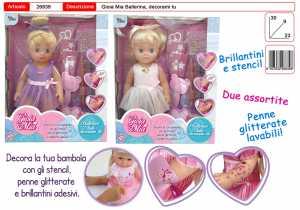 TOYS GARDEN S.r.l. Gioia MIA Ballerina C/Tutu' 26839