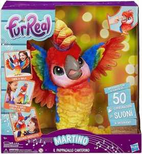Hasbro FurReal Furreal - Martino, Il Pappagallo Canterino, Multicolore, E0388103