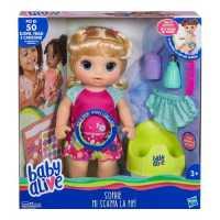 Hasbro Baby Alive Sophie Mi Scappa La Pipì (Bionda), E0609IC0