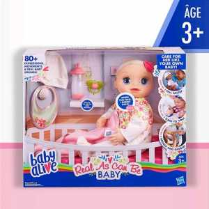 Hasbro Baby Alive Real As Can Be, E2352ES0