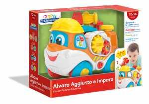 Baby Clementoni - 17244 - Alvaro Aggiusto E Imparo