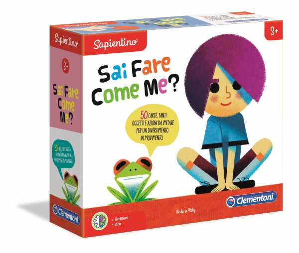 Clementoni-16130-Sapientino-Sai Fare Come Me-Gioco Educativo, Multicolore, 16130