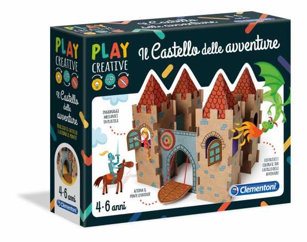 GIOCO PLAY CREATIVE CASTELLO AVVENTURE - Clementoni (15260)