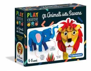 Clementoni - 15261 - Play Creative - Teneri Animali