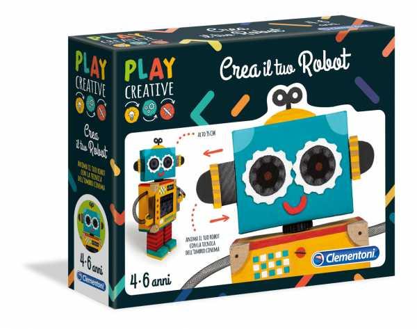 GIOCO PLAY CREATIVE CREA TUO ROBOT - Clementoni (15262)