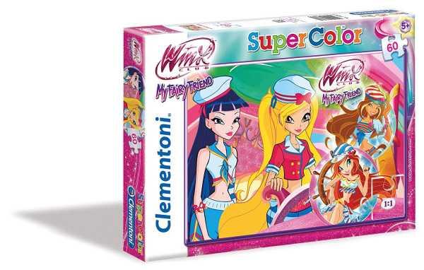 PUZZLE 60 Pezzi MAXI WINX - Clementoni (26589)