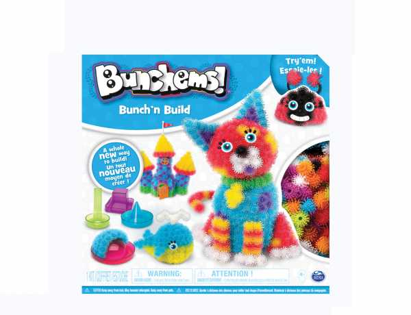 Bunchems Bunch 'N Build Kit Con Formine, 400 Pezzi, 6044156