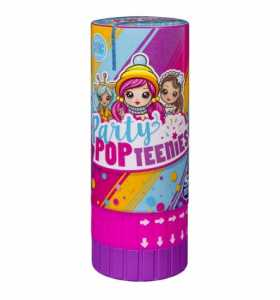 Party PopTeenies 1 Personaggio A Sorpresa, Colore Multi-Colour, 6044096