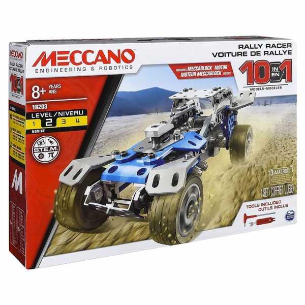 MECCANO- Multimodello Da 10, Veicolo Da Rally, 6040178