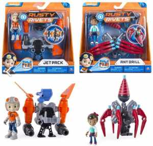 Rusty Rivets Personaggi Con Accessorio, 6034118