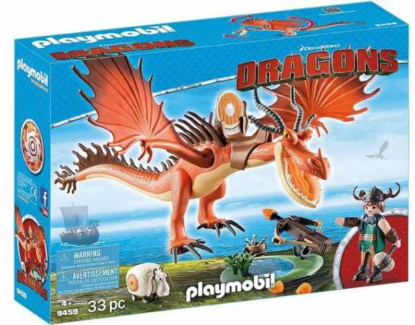 Playmobil 9459 - Dragons - Moccicoso E Zannacurva