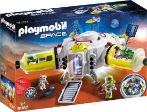 Playmobil 9487 Stazione Spaziale Su Marte & 9489 Mezzo Di Esplorazione Su Marte