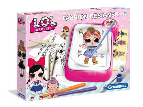 Clementoni - 15258 - Art & Craft - LOL - Fashion Designer