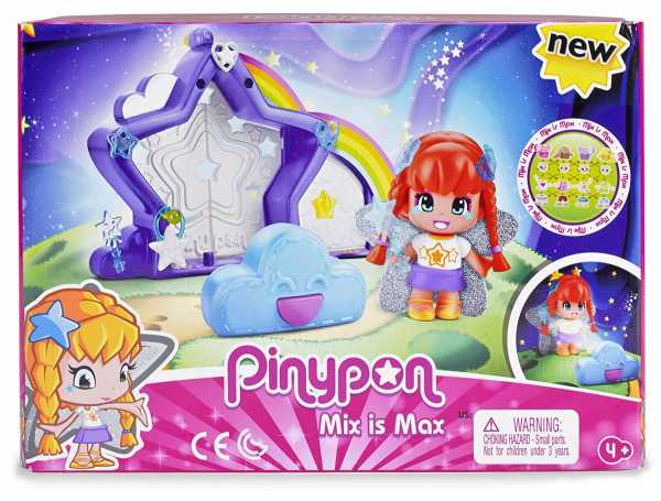 Pinypon Magic Star, Multicolore, 700014093