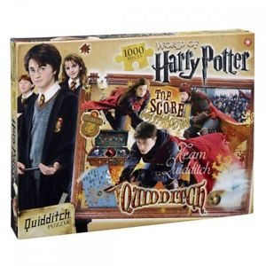 Winning Moves Puzzle Da 1000 Pezzi - Harry Potter - Quidditch (UK)