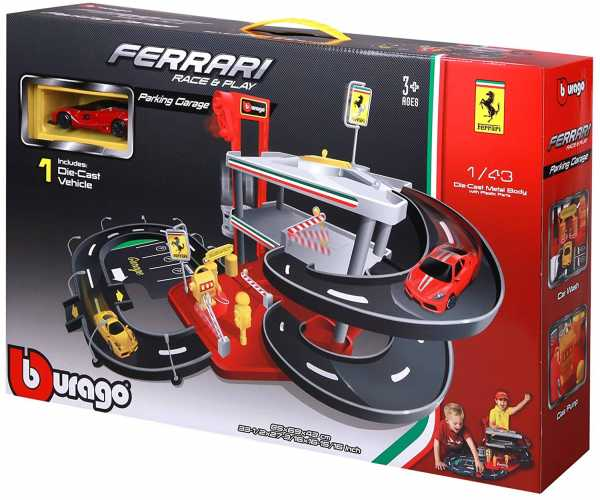 MacDue Bburago 18-31231 - Ferrari Race And Play Auto Service 1:43