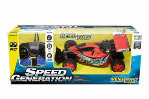 Re.El Toys Speed Generation Dune Buggy Radiocomandato-Scala 1/28-Cm.15, Multicolore, 8001059021628