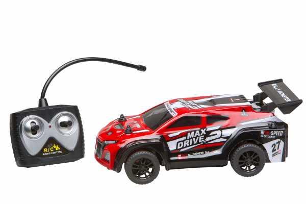 Rally Champ - Max Drive Con Radiocomando E Luci 17 Cm Toys Merchandising