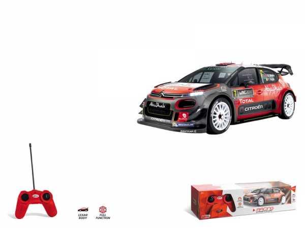 Mondo Citroen C3 WRC Veicolo Radiocomandato Scala 1:24, Colore Rosso, 1899-12-31T01 00.000Z, 63536