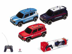 Mondo Motors AUTO 1:24 JEEP RENEGADE SECURITY ITA CON RADIOCOMANDO