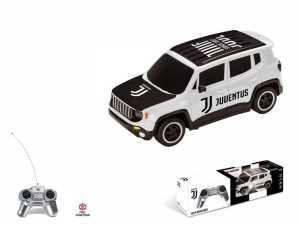 Mondo Jeep Renegade F.C. Juventus Veicolo Radiocomandato, Colore Bianco, Scala 1:24 63555