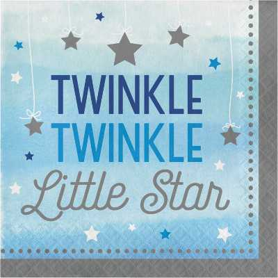 TOVAGLIOLI LITTLE STAR BOY ANNO 1 CM 33 16 Pezzi - Bigiemme Srl (8c322233)