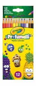 Scatola 12 MATITE COLORATE I PROFUMELLI - Binney & Smith (68-2113)