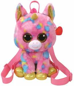 Binney & Smith (Europe) Ltd- TY Fantasia Borsa Zainetto Peluches Giocattolo 966, Multicolore, 829263