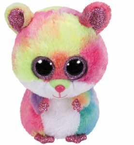 Ty Beanie Boos 28Cm Rodney Orso Peluches Giocattolo 533, Multicolore, 8421364169