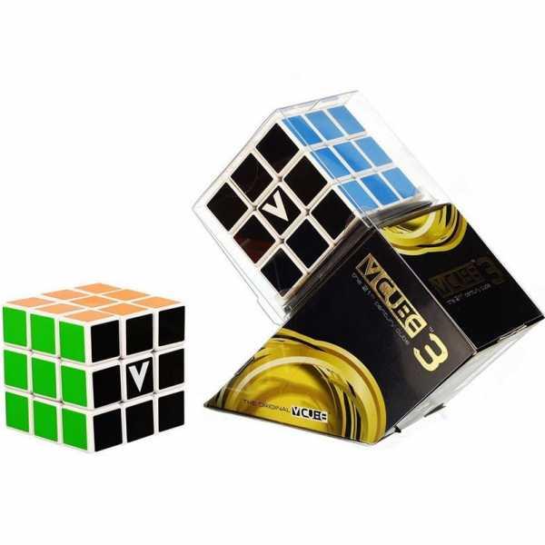 Vcube- Cubo V Cube, Colore White/Multicolor, 5206457000159