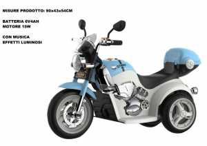 MOTO STRIKE GRILLO BLU 6V - Odg (Odg860)