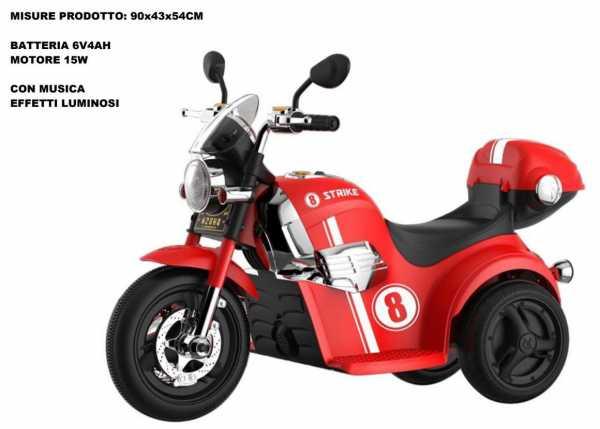 MOTO STRIKE ROSSA 6V - Odg (Odg862)