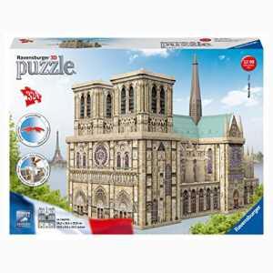 Ravensburger Notre Dame Puzzle 3D Building Maxi,, 12523