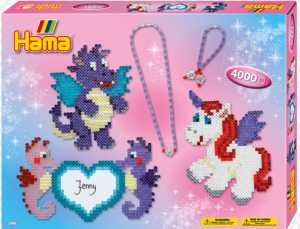 Hama 10.3148Dragon And Friends Gift Box