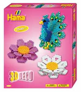 Hama, Perline In 3D Deco