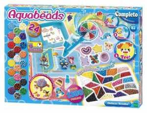 Aquabeads (perline Ad Acqua)- Deluxe Studio, Perle 1320 / Col 24 Perline, Multicolore, 30949-AQU