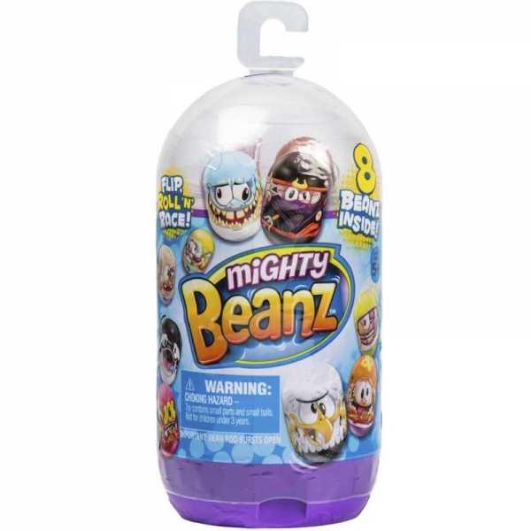 Giochi Preziosi Mighty Beanz, Slam Pack, Con 8 Personaggi Inclusi