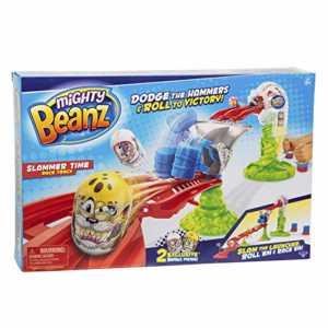 Giochi Preziosi Mighty Beanz Pista Slammer Time Race Track Pista Da Corsa Con 2 Personaggi Inclusi