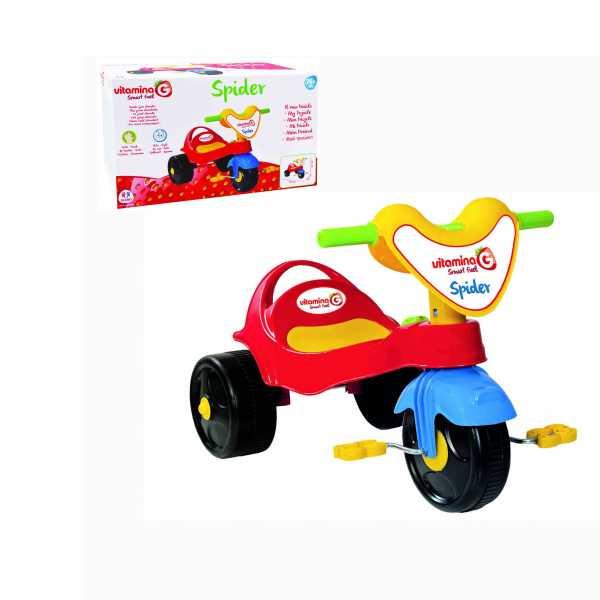 GLOBO, Tricycle In Plastica (05336), Multicolore