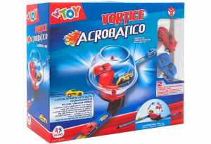 Globo - Ball Track Racing W/2 Pullback Cars 16 Pezzi (39010), Multicolore (1)