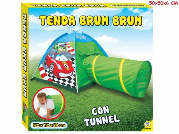 Teorema Tenda Con Tunnel Macchinine Merchandising Ufficiale