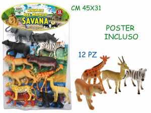 Teorema 70305 - Busta Gigante Animali Giungla