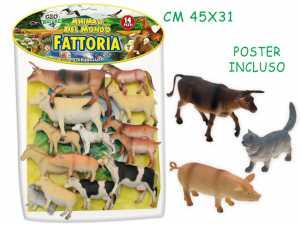Teorema 70306 - Busta Gigante Animali Fattoria