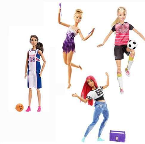 Barbie Giocatrice Di Basket Snodata, FXP06