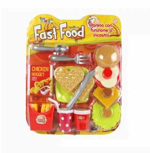 Set CUCINA FAST FOOD - Toys Garden (26866)